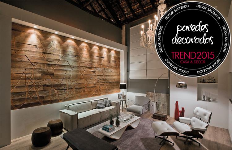 10 tend ncias de casa e decora o 2015 fique por dentro - Tendencias paredes 2015 ...