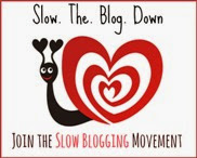 Slow blogging