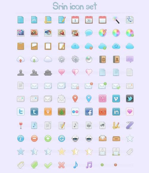 Srin Icons Set
