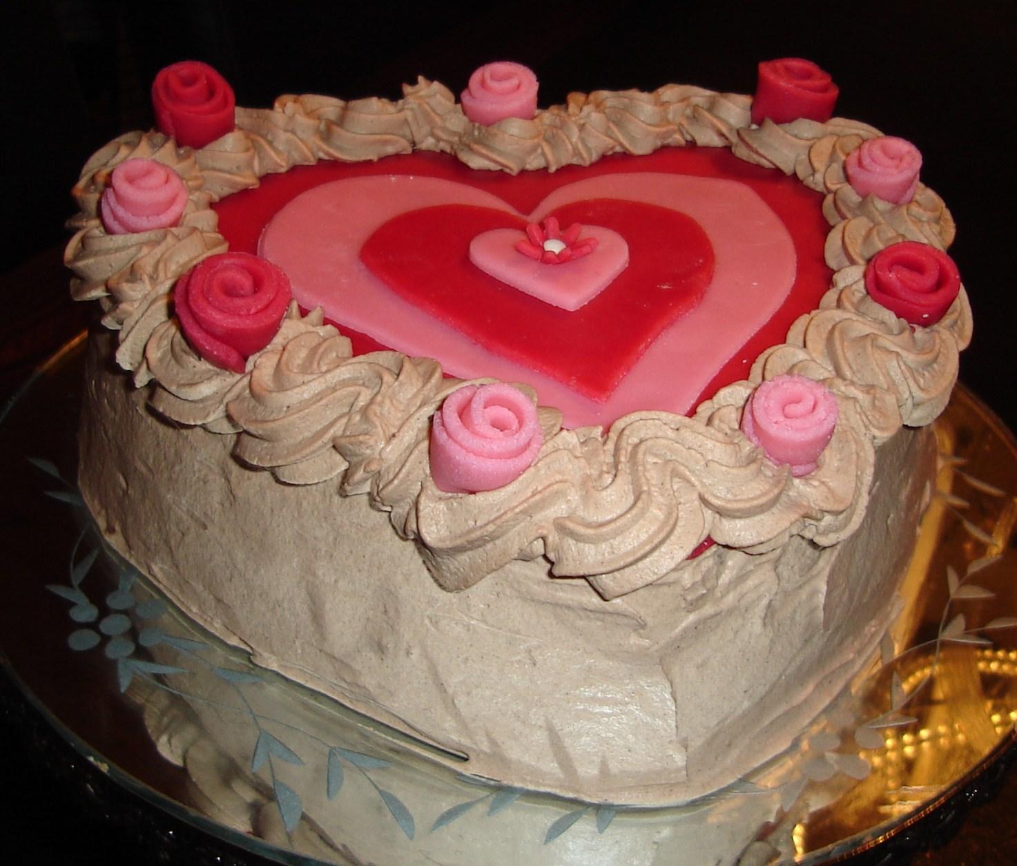 alla hjärtans dag tårta recept
