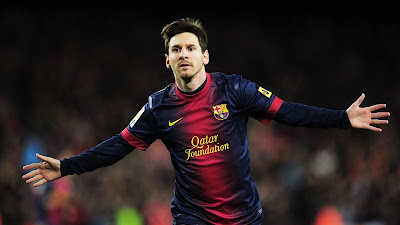 MESSI Spanish Football 2013