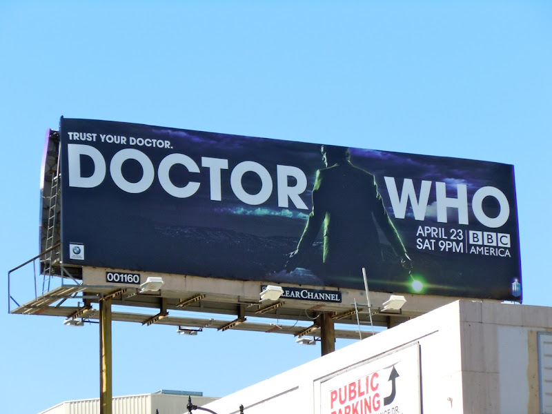 Doctor Who season 6 TV billboard