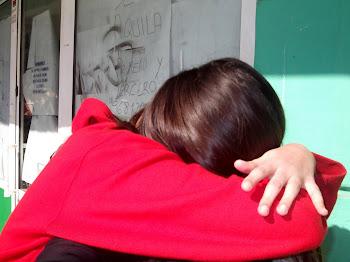 Un abrazo es importante si la persona a la que abrazas lo es.