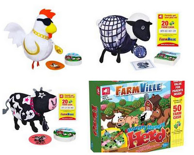 FarmVille Mini Game Sets, FarmVille Board Game