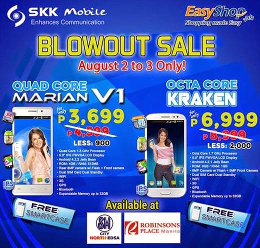 SKK Mobile Blowout Sale, Get Up To Php2,000 Off