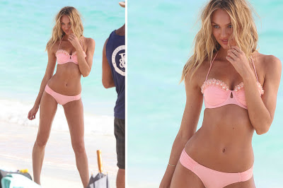 Candice Swanepoel bikini model
