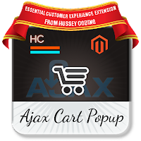 Ajax Cart Popup by Hussey Coding
