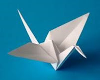 image of origami swan