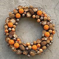 Новогодние венки с апельсинами своими руками