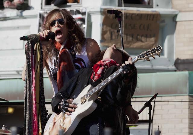 Aerosmith, Steven Tyler, Joe Perry