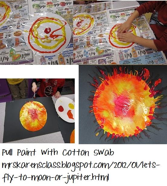 Outer Space Preschool Craft Ideas 552 x 614