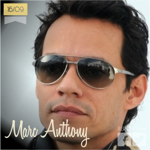 16 de septiembre | Marc Anthony - @MarcAnthony | Info + vídeos