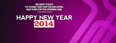 Free Happy New Year 2014 Facebook Covers