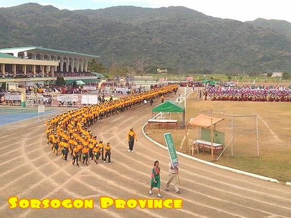 Palarong Bicol 2014 Sorsogon Province Delegation