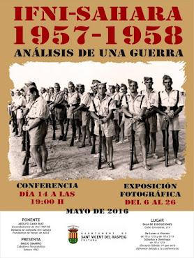 EXPO. CONFERENCIA  IFNI SAHARA