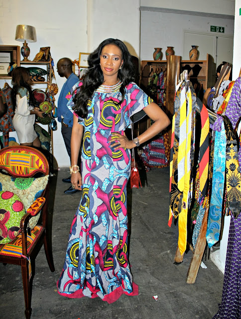 vakwetu, africa fashion week, london, 2013, african print,dress