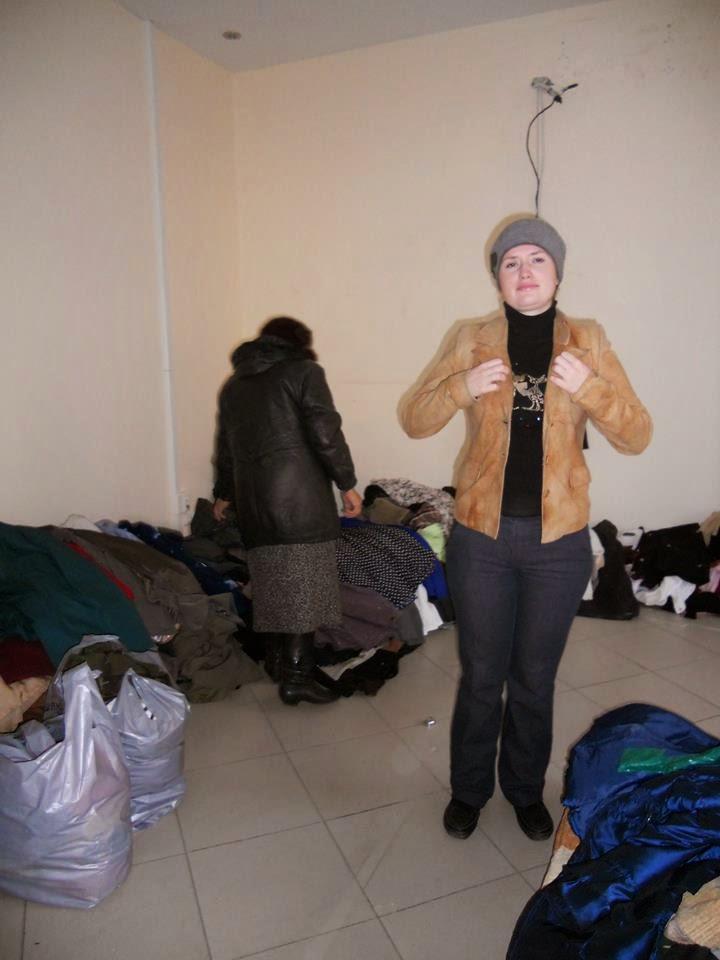 центр помощи беженцам на Марата, 6
