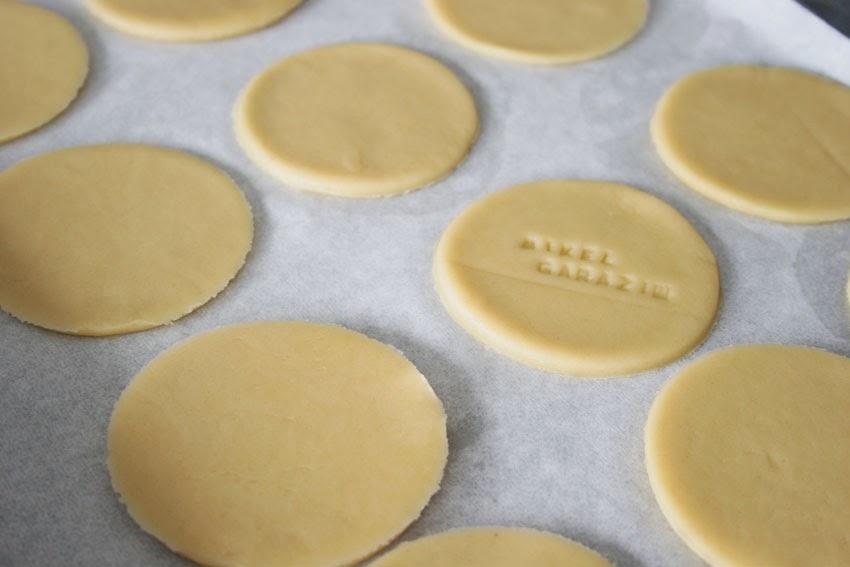 Galletas redondas al horno