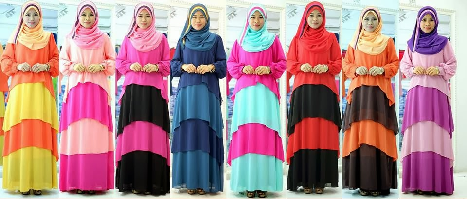 Ready Stock All Color. Lolipop Chiffon Dress Full Lining. Latest Collection Lebih Elegan