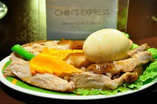 Honey Garlic Chicken from Chin's Express SM Fairview Foodcourt
