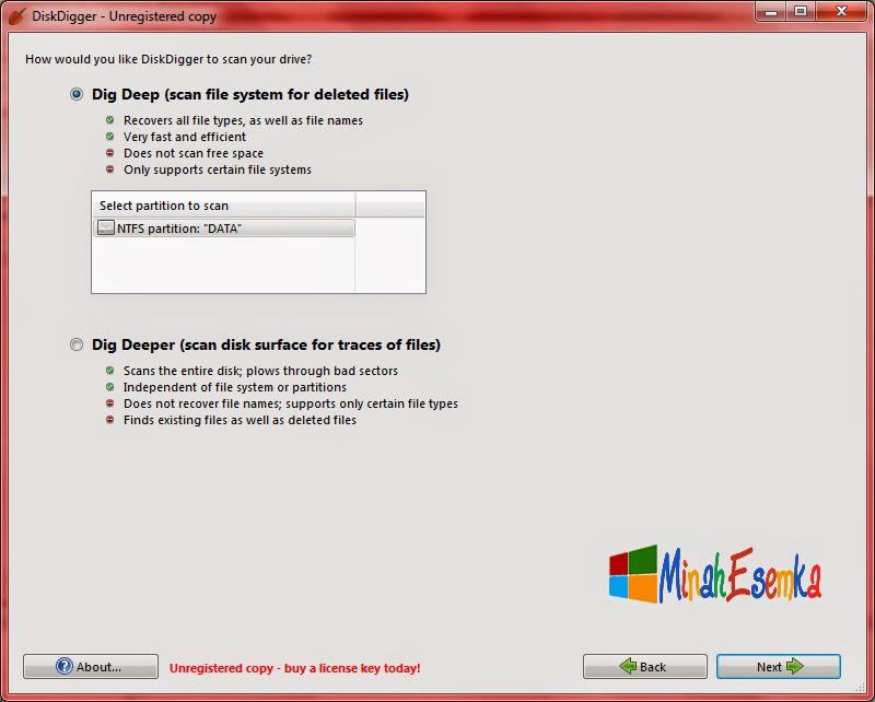 File anda terhapus ? Jangan Khawatir!