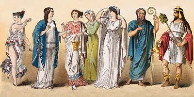 Dii Omnymi - Διΐ Όμνυμι: Ancient Greek Clothes