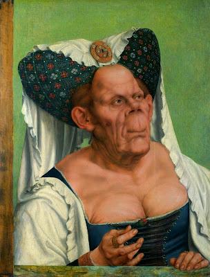Una grotesca dona vella (Quentin Massys)