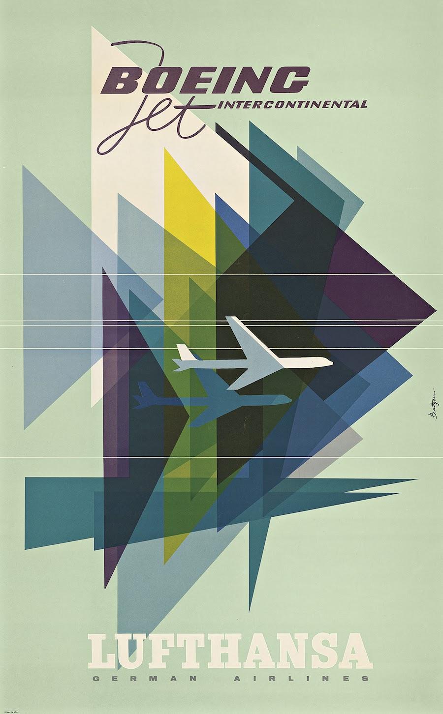 Lufthansa airline advertising branding