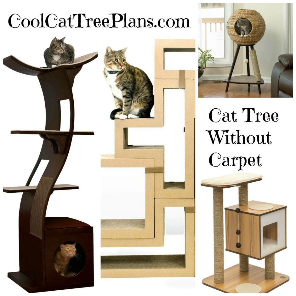 Cool cat tree plans for Cat tree blueprints