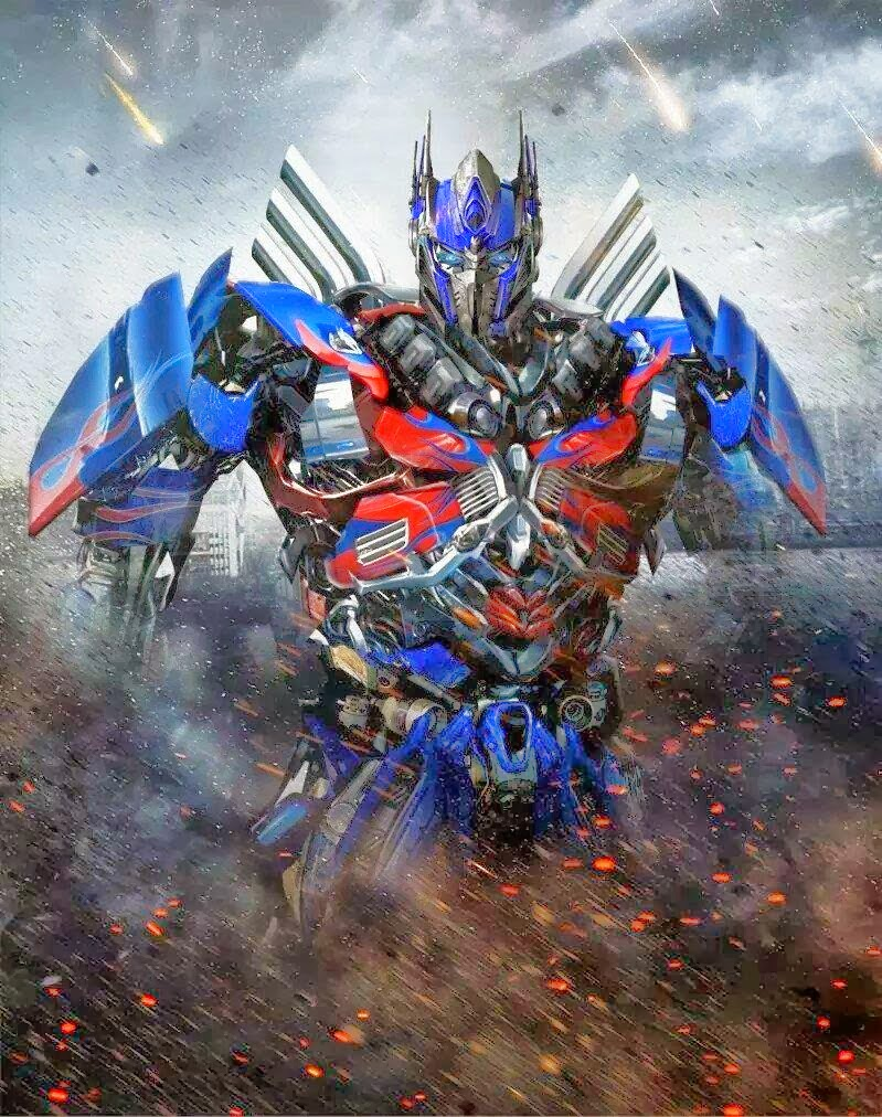 Cool Optimus Prime on Poster