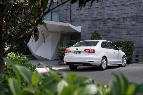 Volkswagen Jetta Trendline stationary