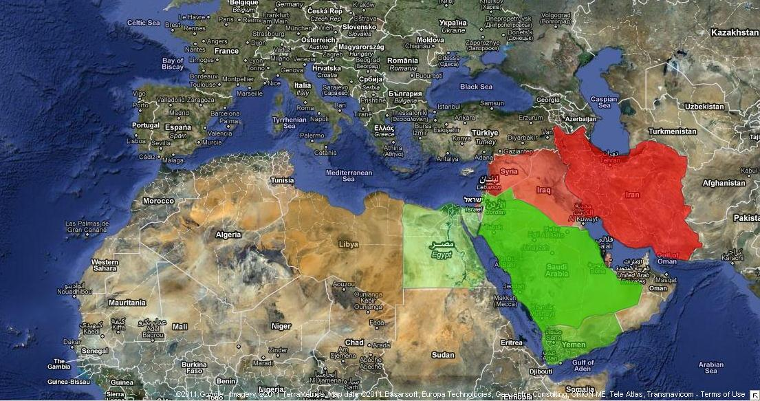 in a country by country analysis and overview article journalist patrick martin frames the current events in mena as a rebalancing of saudi and irani