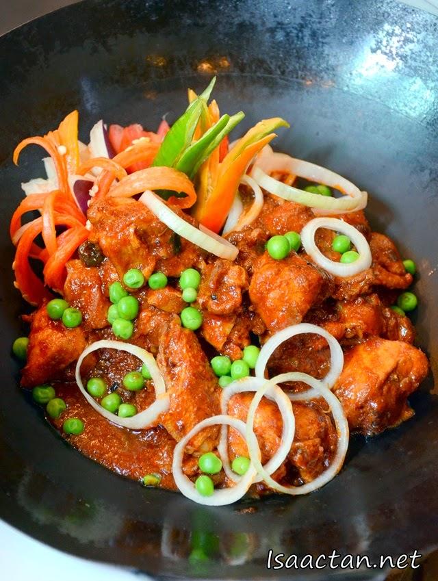 Chicken dish similar to Ayam Masak Merah