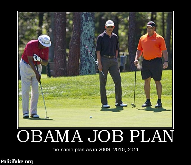 obama golf meme