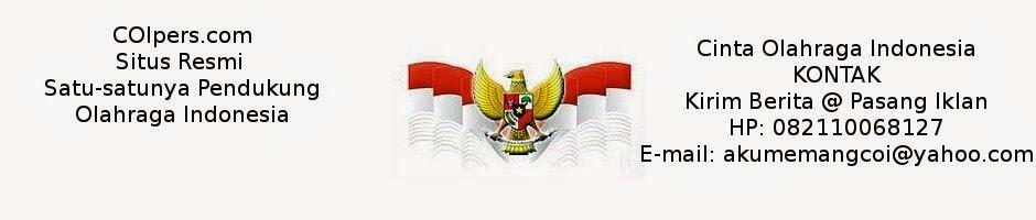 AYO KITA DUKUNG OLAHRAGA INDONESIA