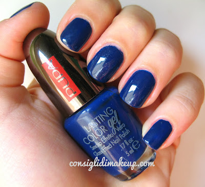 NOTD: Pupa Lasting Color Gel 053 Pacific Beauty