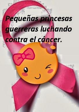 NIÑA PEQUEÑA PRINCESA CONTRA EL CANCER