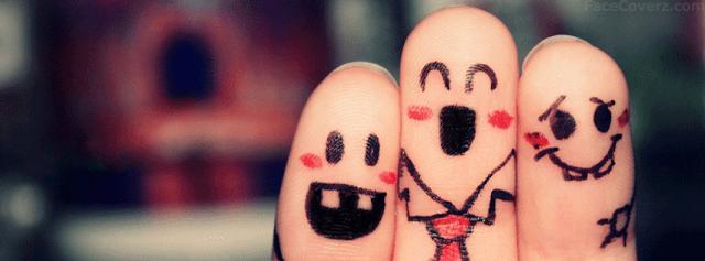 صورة كفر فيس بوك جميلة جدا معبرة عن الصداقة فيها 3 اصابع متماسكين