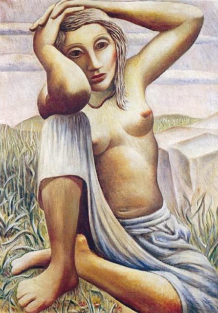 Tito Canepa. Desnudo. 1975