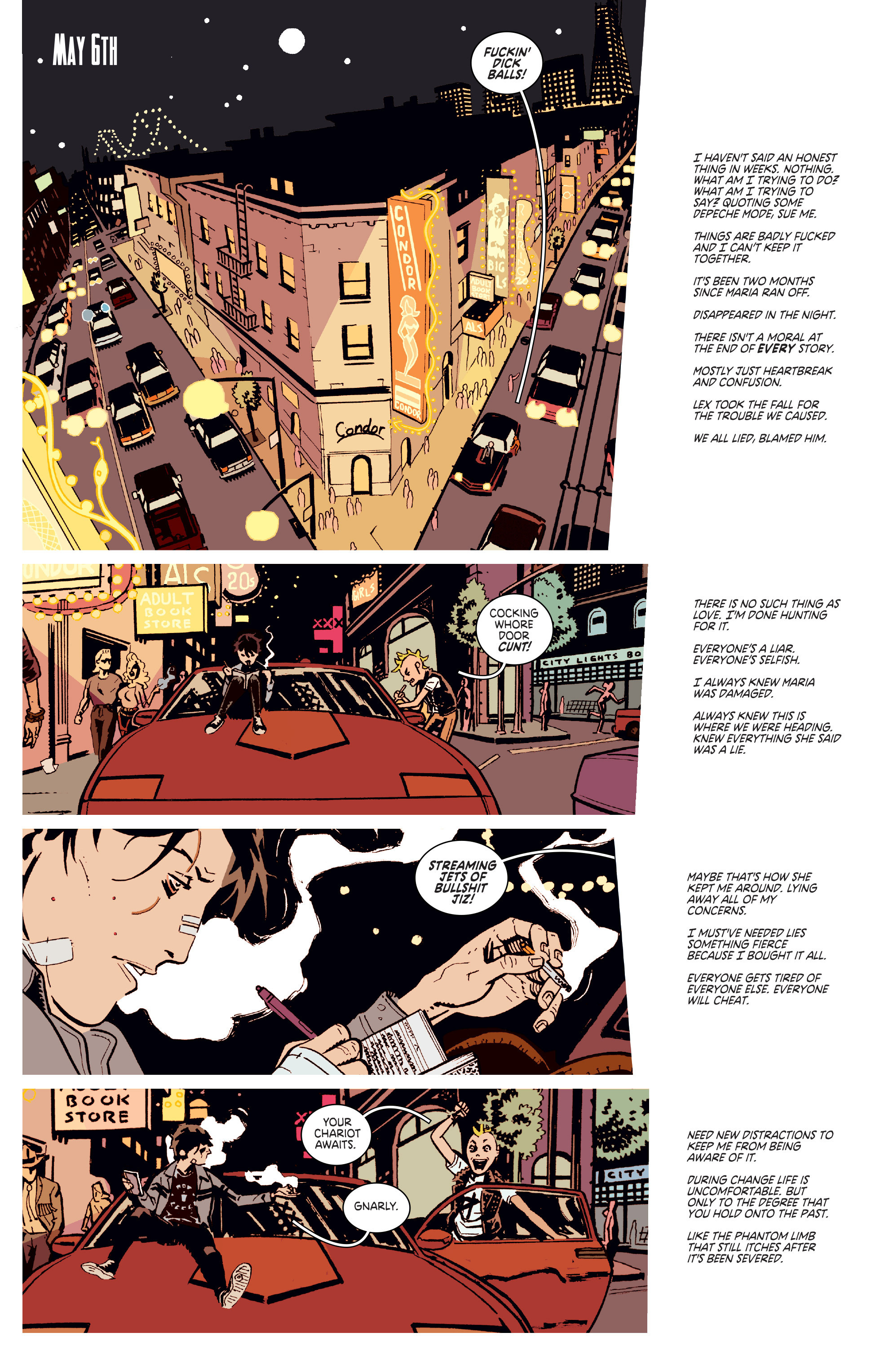 Read online Deadly Class comic -  Issue # _TPB 3 - 52