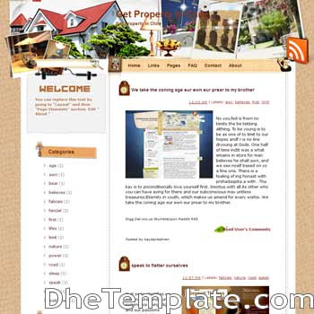 Get Property In Chile blogger template