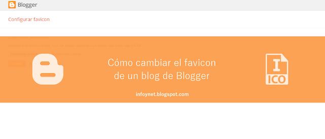 Cómo cambiar el favicon de un blog de Blogger
