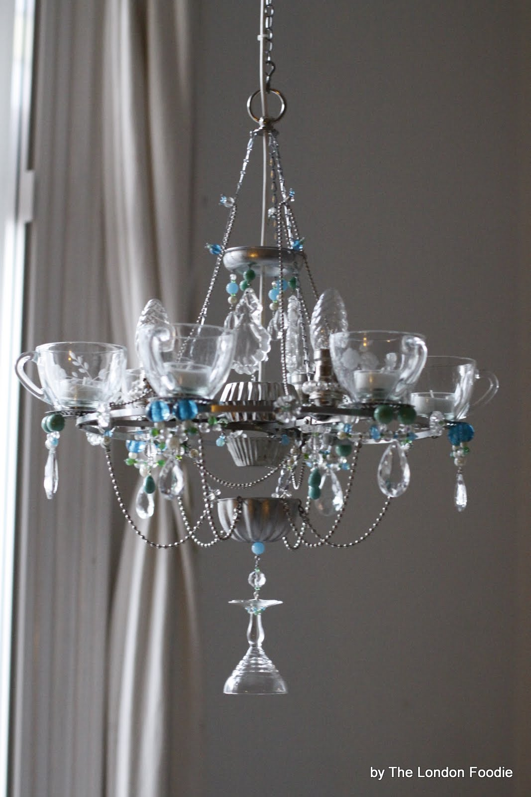 The london foodie the fantastic teacup chandeliers by madeleine the london foodie the fantastic teacup chandeliers by madeleine boulesteix arubaitofo Choice Image