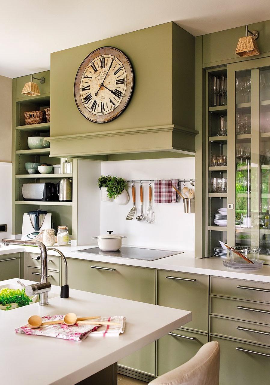 Stebbing house desing organiza la cocina y tenlo todo a - Cocina para todos ...