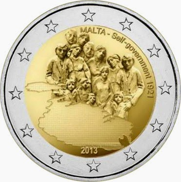 2 euro Malta 2013, The Self-Government Constitution of 1921