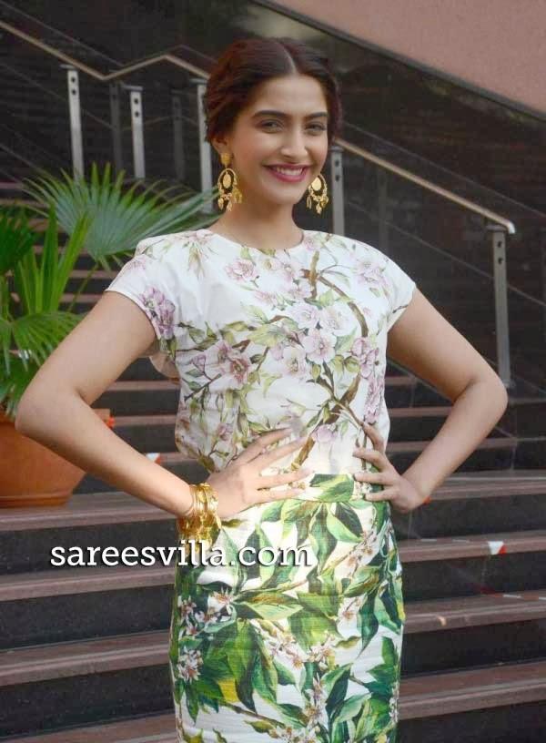Sonam Kapoor in Skirt