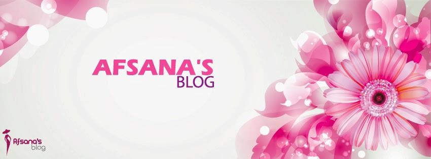 Afsana's Blog