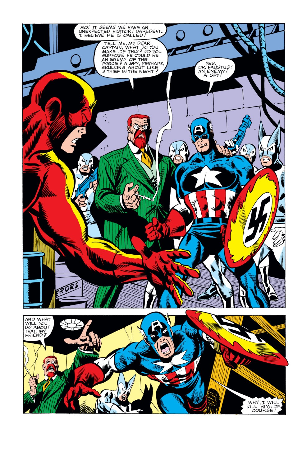 Captain America (1968) Issue #234 #149 - English 14