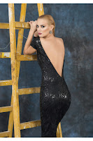 Rochie LOVELOVE Feel The Touch negru