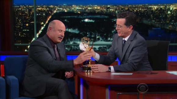 Stephen Colbert (Feb 3, 2016) – Dr. Phil McGraw, Mark & Jay Duplass, Michael Eric Dyson, Anderson Paak and the Free Nationals